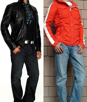 Dark color jacket versus Light color jacket