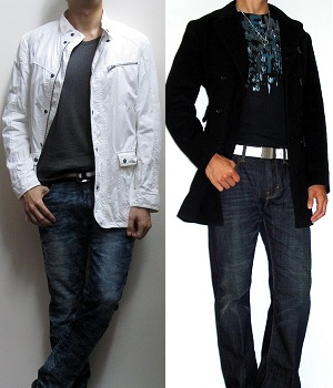 Stylish Jacket Plain T-shirt versus Plain Jacket Stylish Graphic Tee