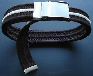 Men's H&M Brown Cotton Belt