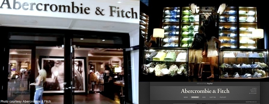 Abercrombie & Fitch Clothing Store