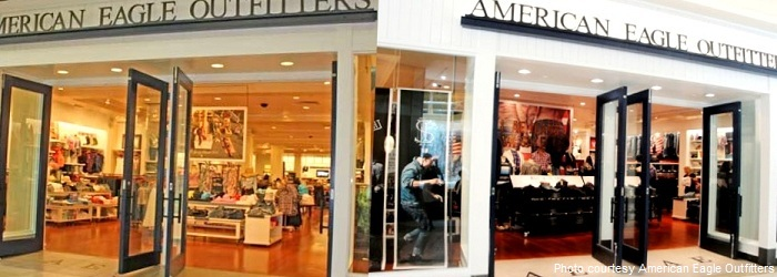 American Eagle Outfitters Clothing Store