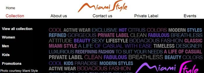 Miam Style Website