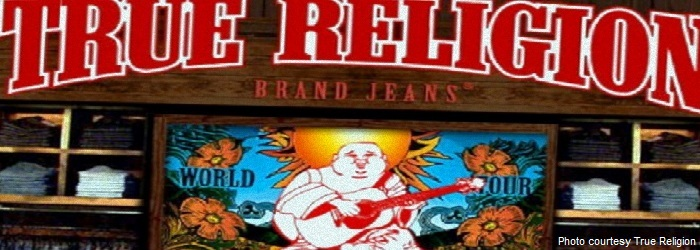 True Religion Clothing Store