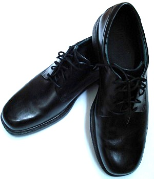 ALDO Black Leather Oxford Shoes