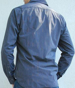 Men's American Eagle Black Striped Shirt