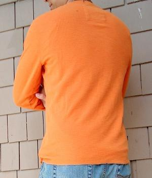 Men's American Eagle Orange Eagle T-Shirt