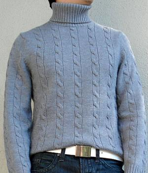 Banana Republic Grey Turtleneck Sweater