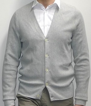 Club Monaco Grey Cardigan Sweater