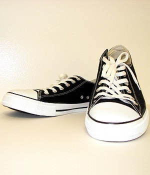 Converse All Star Black Canvas Sneakers