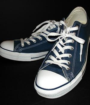 Converse All Star Blue Shoes