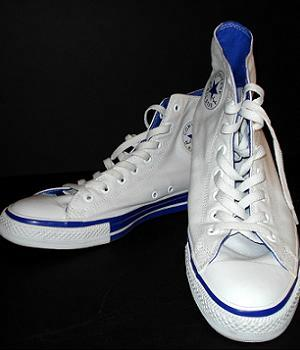 Converse All Star White Hi Top Shoes