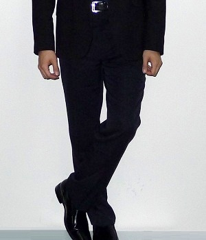 Men's Express Black Straight Leg Dress Pants