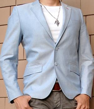 Men's H&M Baby Blue Blazer