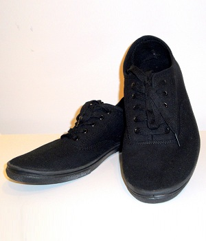 H&M Black Casual Canvas Shoes