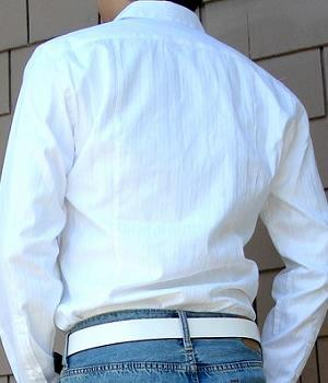 Men's H&M White Dress Shirt