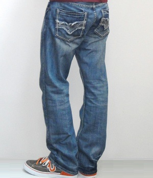 Men's Levis Light Blue Straight Leg Jeans