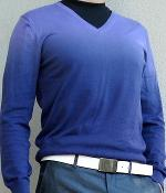 Benetton Purple Gradient Sweater