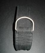 H&M Black Cotton Belt