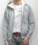 NET Gray Zip Hoodie Jacket