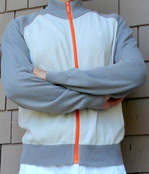 Men's Marc Ecko Grey Zip Up Mock Neck Track Jacket