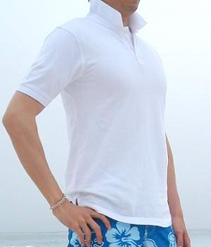 Men's Merona White Polo Shirt
