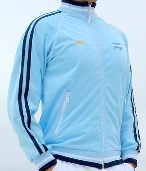 Men's Miami Style Blue Track Jacket