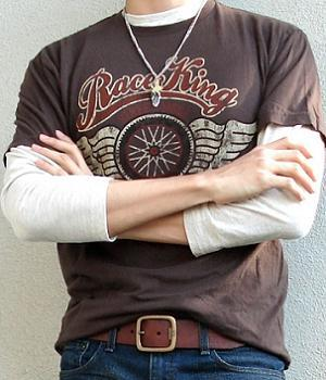 Men's Sonoma Brown Graphic Tee