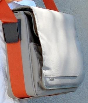 Men's Targus Beige Messenger Bag