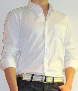 Uniqlo White Button Down Shirt