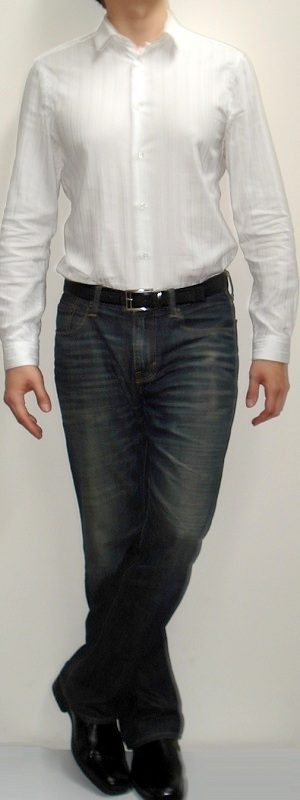Black shoes with blue jeans and white shirt style guru Black shirt blue jeans